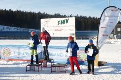 Siegerehrung U12 männlich mit Karlmann (ganz rechts)