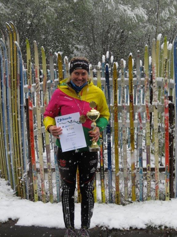 Jasmin Senf, Streckenschnellste über 10km