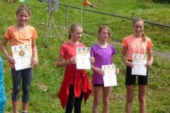 Siegerehrung U13 weiblich