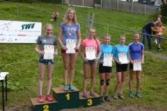 Siegerehrung U15 weiblich