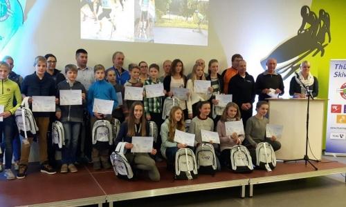 Gruppenbild D-Kader Langlauf