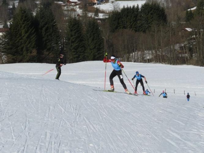 Saskia Wurmehl belegte mit Maren u. Nadin Hermann Rang 10 am Sonntag