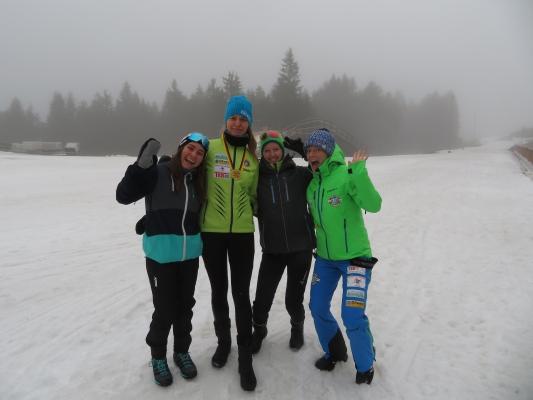 Saskia, Alex, Luisa und Maren