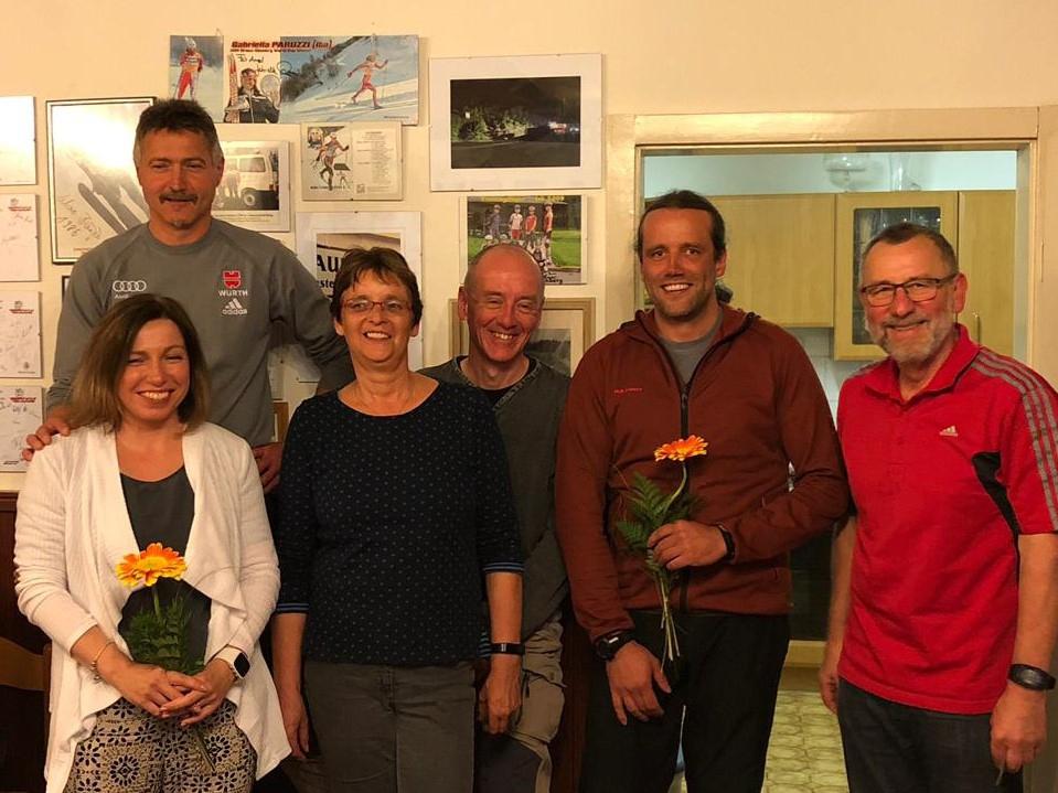 der neue Vorstand (von Links): Ulrike Stumpf, Reinhard Kurtz, Ute Sillier, Jan Schmidt, Martin Henniger und Wolfgang Teichmann