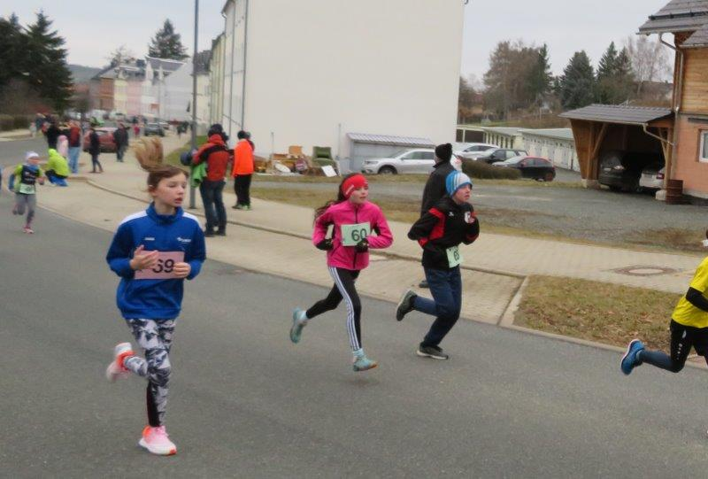 Magdalena ( Nr.60) bei ihrem Lauf über 1,2km