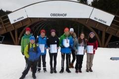 von links: Raphael Heinl, Karlmann Smailes, Sophie Heinl, Luisa Krause, Mathiez Henniger, Alexandra Otto, Saskia Wurmehl, Angelina Gemeinhardt