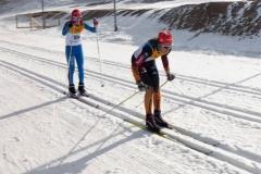 Mathieu Henniger auf der 7km Klassik Strecke