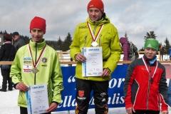 Raphael Heinl (links im Bild) mit seiner Silbermedaille