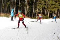 Saskia Wurmehl beim Goldlauf