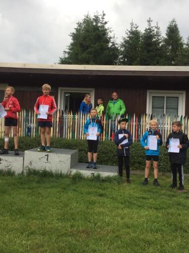 Siegerehrung Steinheid, Platz 3 Tim Wachtel