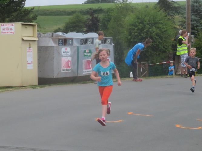 Kim Gallitz läuft auf Platz 2